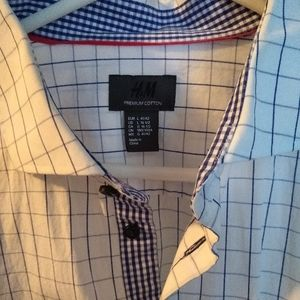 H&M premium dress shirt